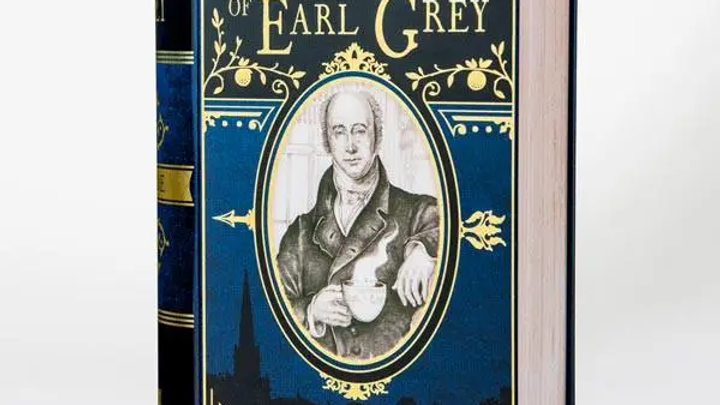 The Picture of Earl Grey - Book-shaped Tea Tin