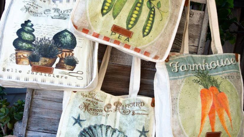 Sac du Marche - Farmhouse Grocery Bag