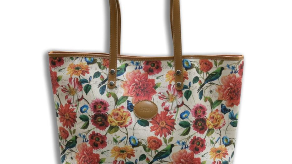 Tote Bag Fashion Escale Flowers