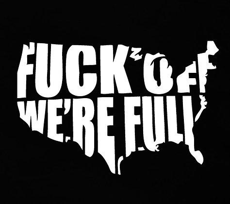 We're Full