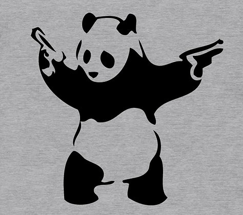 Panda Guns Gray