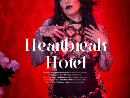 """Heart Break Hotel"" Photos I took of Copper Head published in Fienfh Magazine"