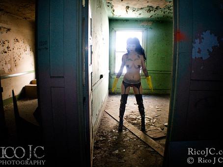 The Abandoned Asylum in Cali, AKA My Studio