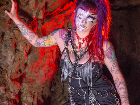Abandoned Mine Photoshoot with Model Sabrina and BTS video