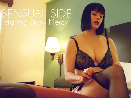 """""""Sensual Side"""" Video starring Snow Mercy"""