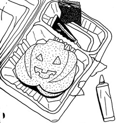 Make your own Pumpkin head