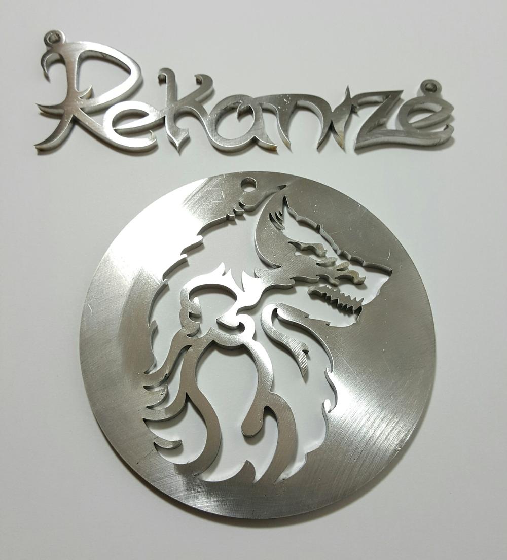 Rekanize Wolf Pendant