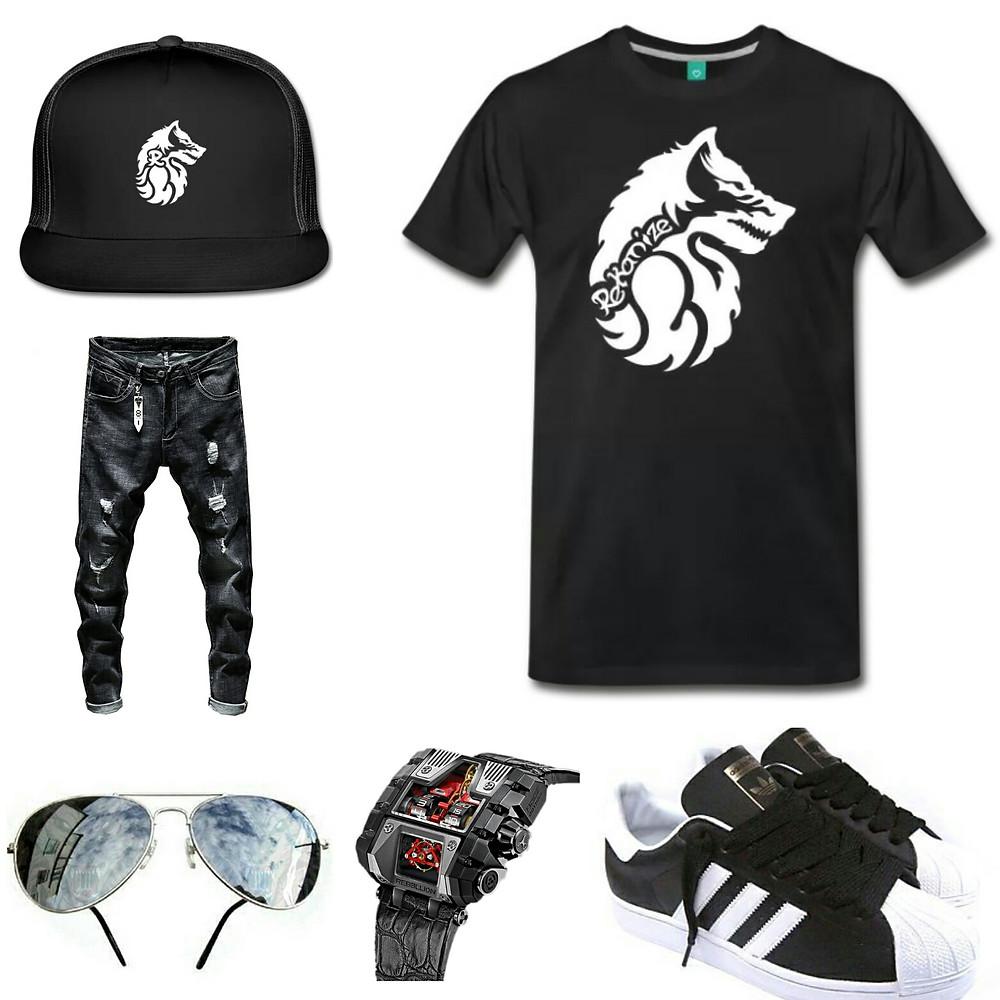 Rekanize Black and White Fashion Ideas