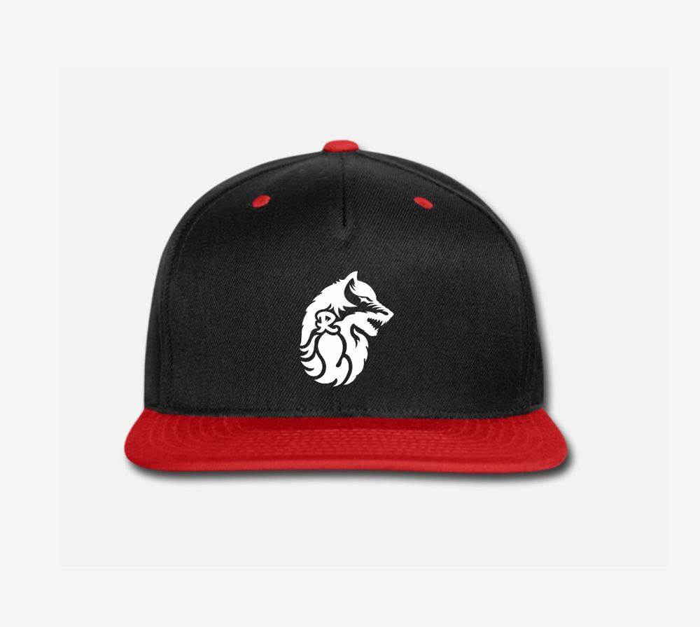 Rekanize wolf snap-back baseball cap