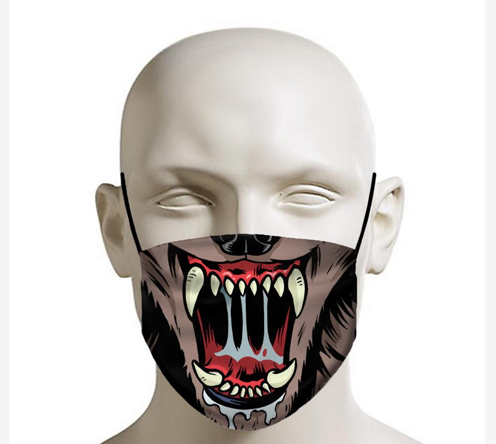 Rekanize Wolf Face Mask