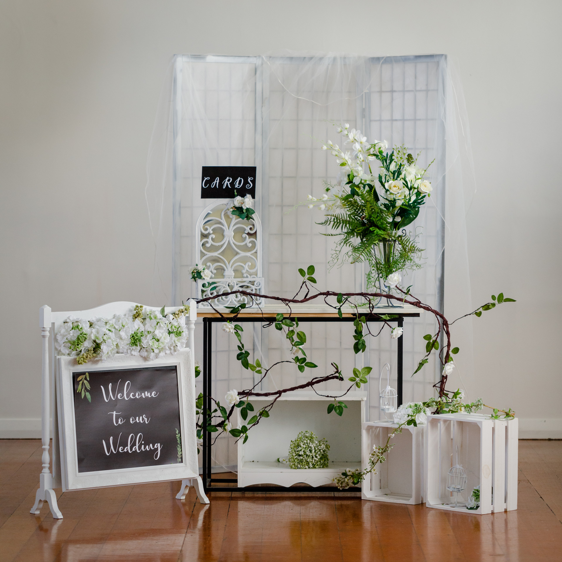 White Wedding Welcome Package