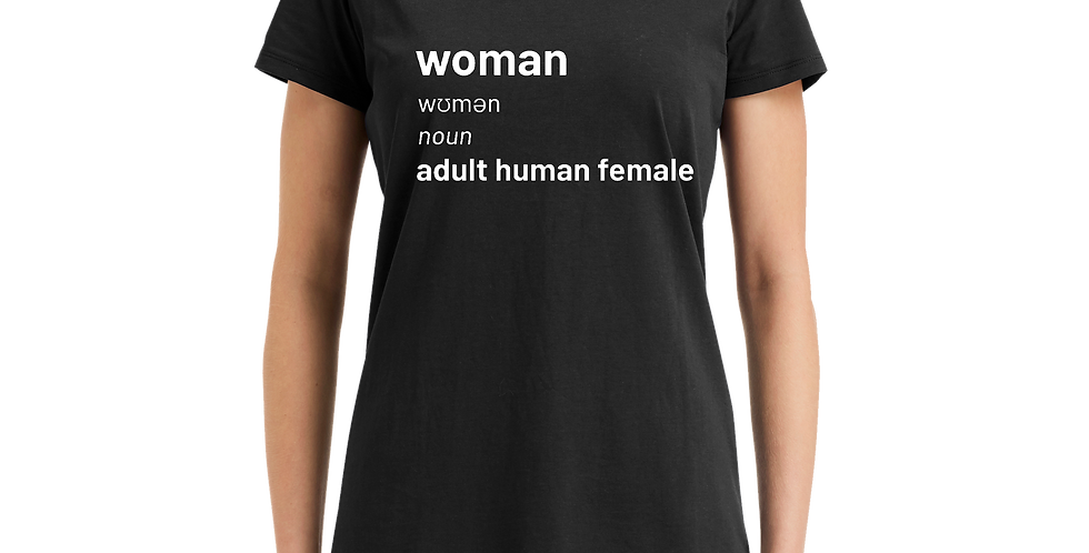 Women's Adult Human Female T-Shirt