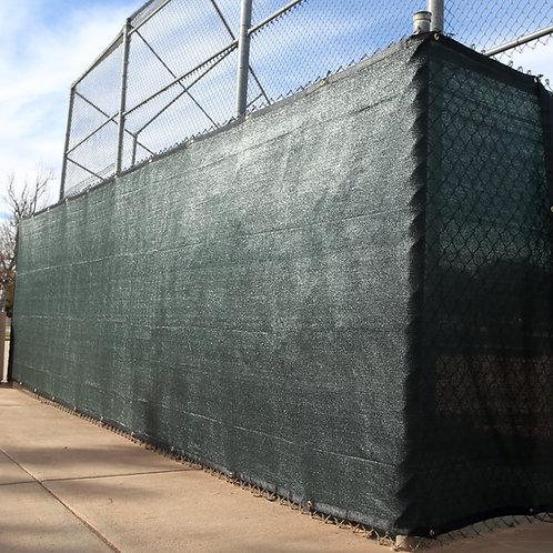 "HEAVY DUTY 6' x 50' (5'8"") Privacy Fence Screen 90% Blockage"