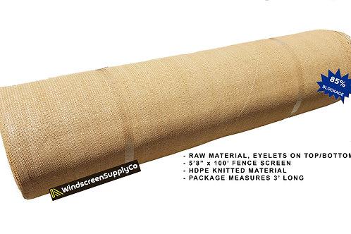 "6' x 100' (5'8"") Raw Roll Privacy Screen"