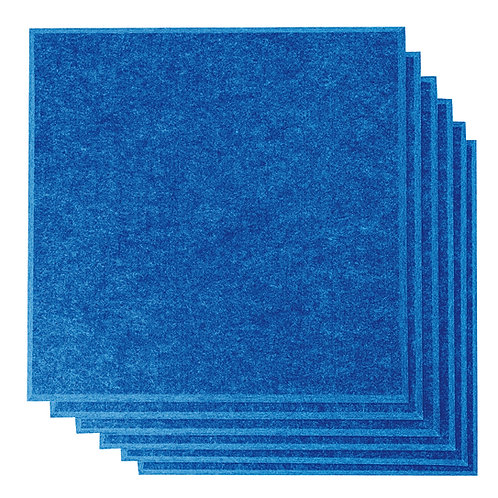 "12"" x 12"" RHINO Acoustic Panels Blue Color (6 Pcs)"