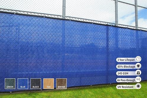 "HEAVY DUTY 8' x 50' (7'8"") Privacy Fence Screen 85% Blockage"