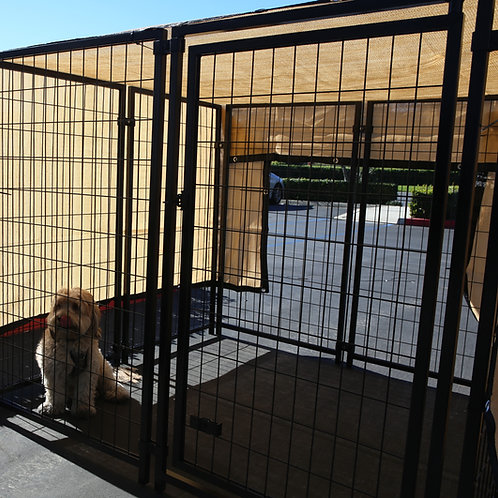 Heavy Duty 6' x 12' Kennel Shade Covers