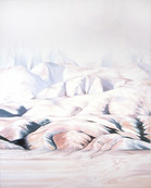 Fat Valley, Oil on Canvas, 5ft5x4.5ft