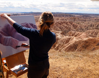 Residency in The Badlands National Park, USA