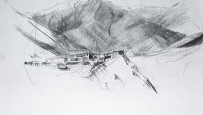 Day 16 Jharkot (and other drawings)