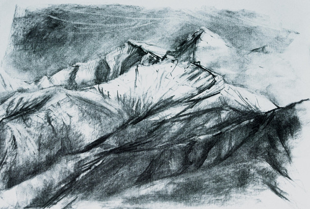 On-site sketch, Nepal
