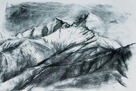 On-site sketch, Nepal