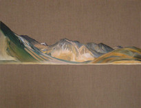 Pangong, Oil on Linen, 20x16 inches