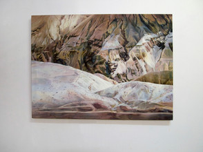 Not a Beauty Spot, Oil on Linen, 121x158 cm