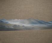 Plateau Haze, Oil on Linen, 12x10 inches