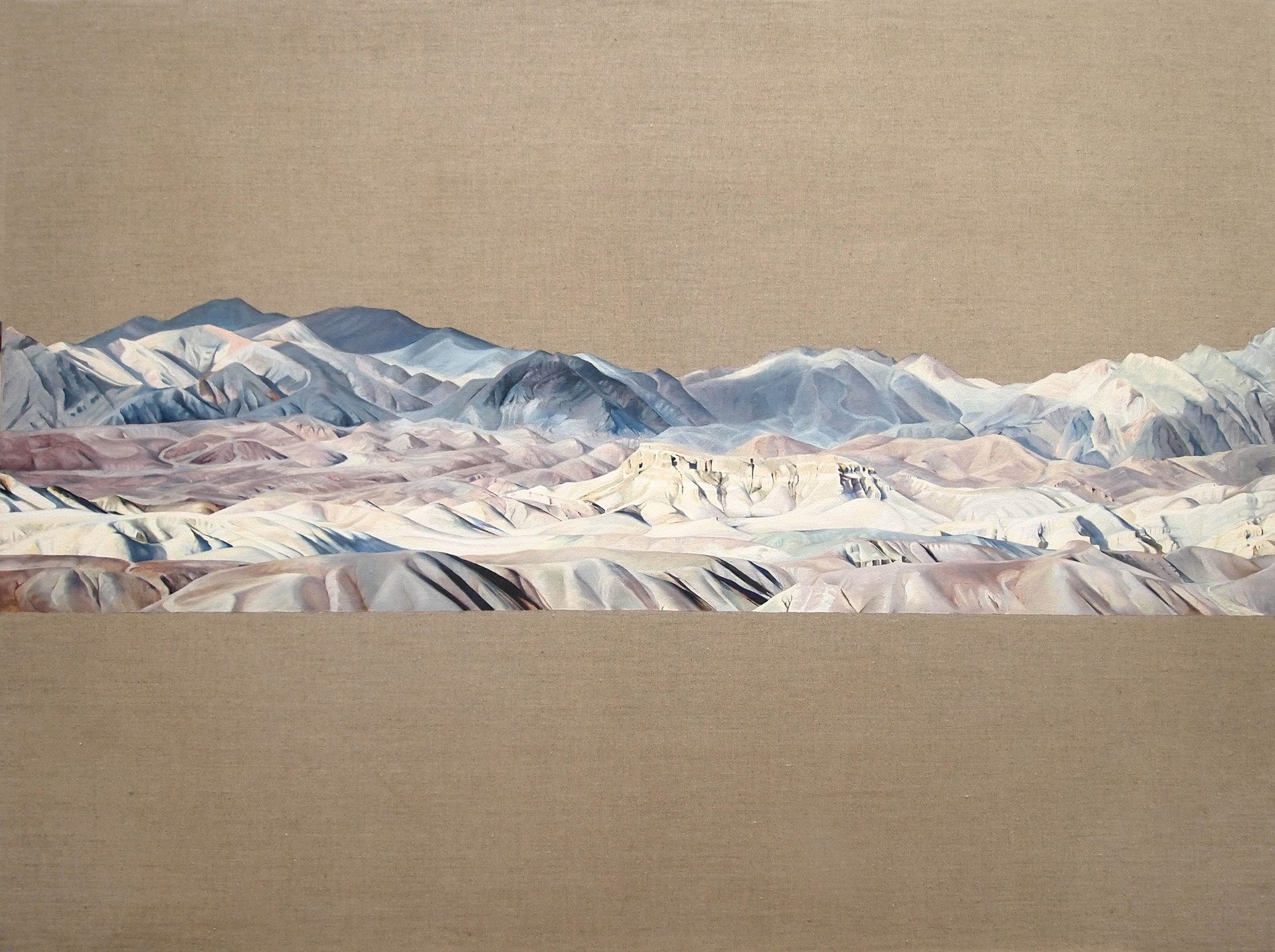 Death Valley 2, Oil on Linen, 36x48 inches