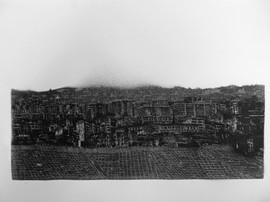 Concrete River, 25x15cm, Graphite on Paper