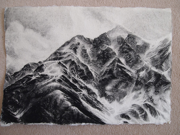 Kyrgyzstan, Pencil on Paper