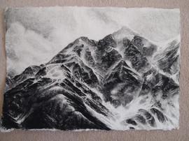 Kyrgyzstan, Pencil on Paper