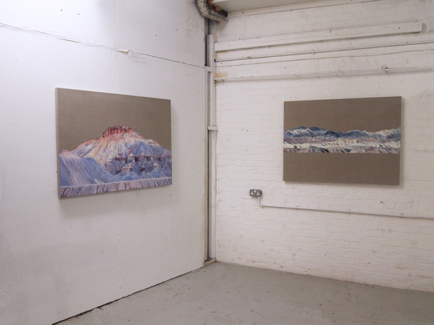 Studio Installation, Butte and Death Valley