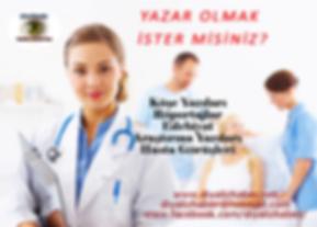 DiyalizHaber- YAZAR OLMAK İSTERMİSİNİZ.f