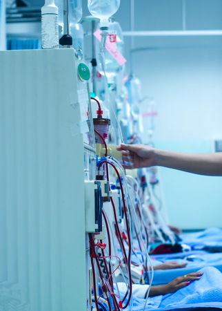 hemodiyaliz makinası ve hemodiyaliz