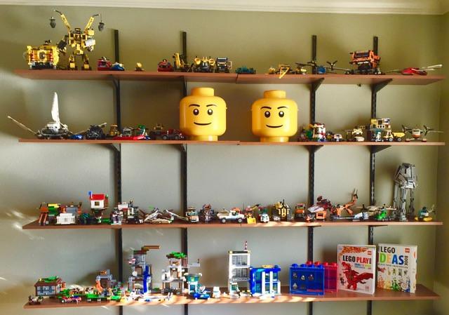 Playroom Lego Storage