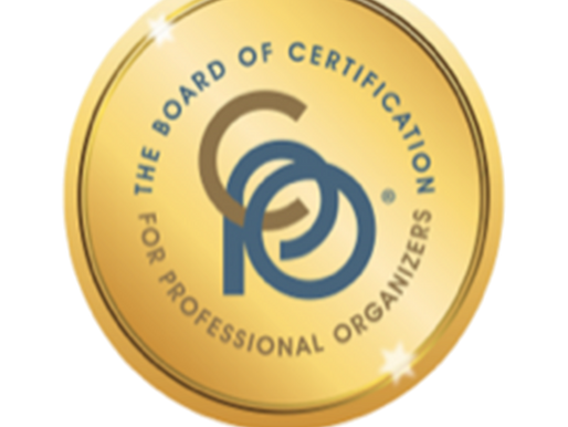 Jenny Dietsch Named Certified Professional Organizer® (CPO®)
