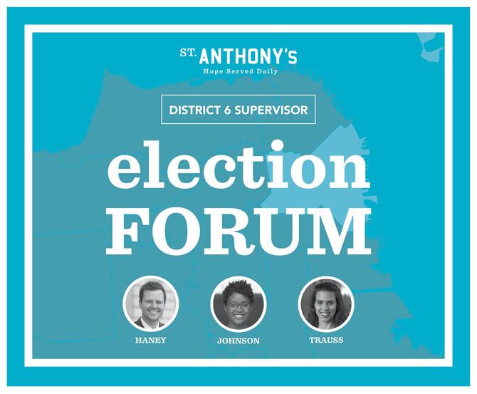 District 6 Election Forum