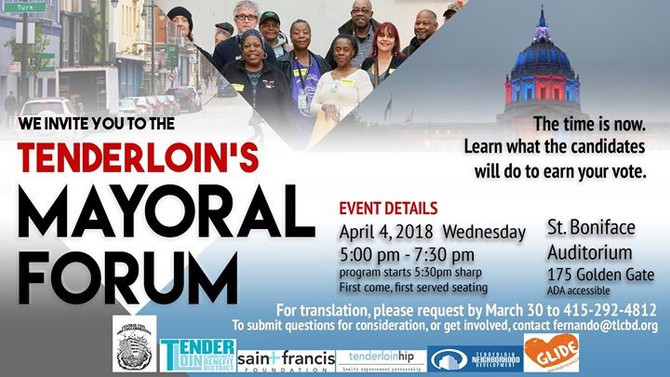 The Mayoral Forum Needs Your Questions!