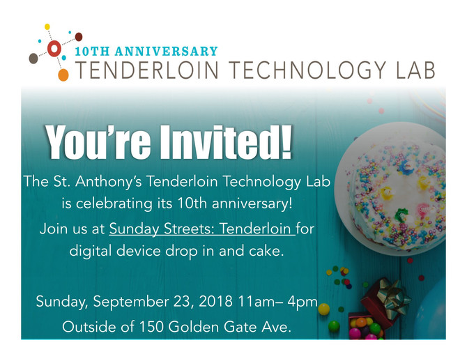 Tenderloin Technology Lab Birthday Party!