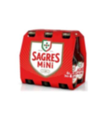 SAGRES MINI BRANCA 6PACK 0,20L TP