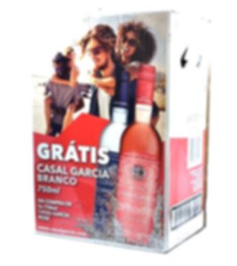 CASAL GARCIA PACK (5GF ROSE + 1GF BRANCO)