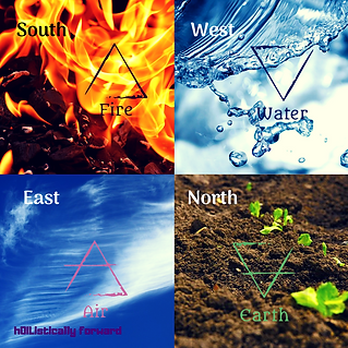 The Four Elements - Calling the Elements - hOIListically forward - claudianoblepyott.com