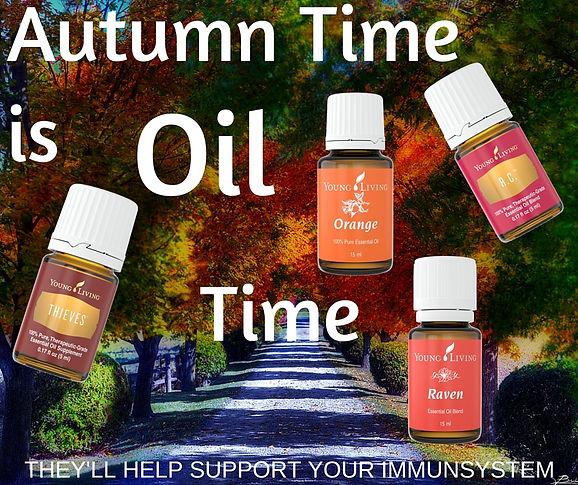 Autumn is Oil Time; Thieves, Orange, Raven, R.C. - hOIListically forward