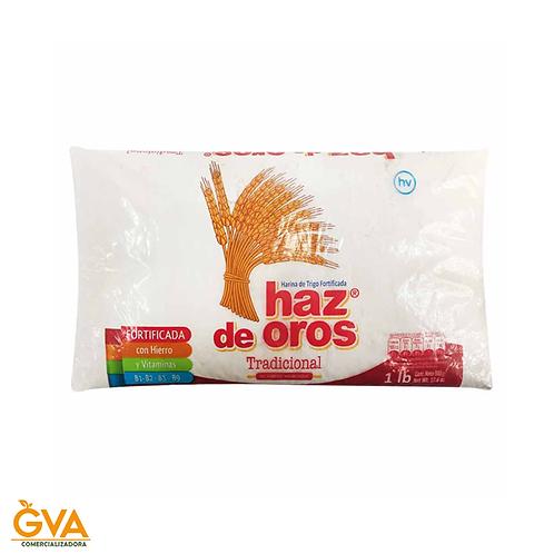 HARINA DE TRIGO HAZ DE OROS 500gr