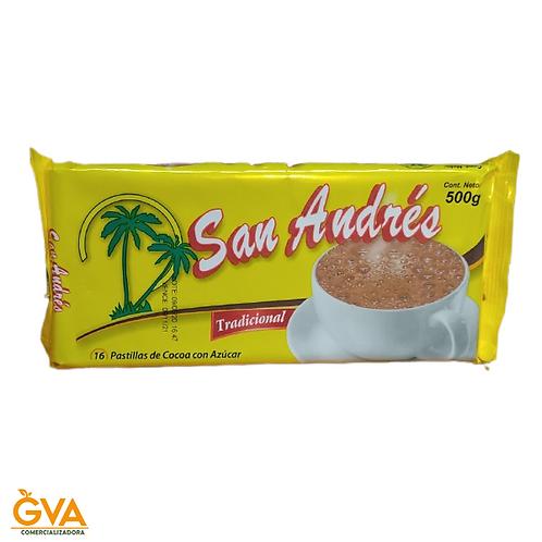 CHOCOLATE TRADICIONAL SANANDRES 500gr