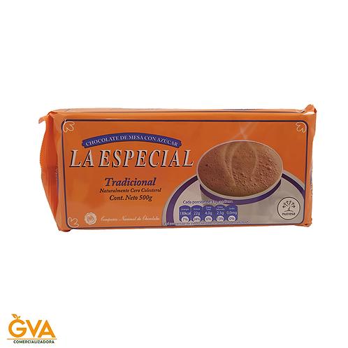 CHOCOLATE TRADICIONAL LA ESPECIAL 500gr