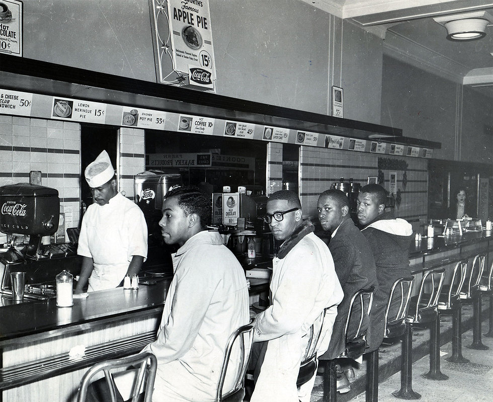 students-African-American-sit-in-lunch-c