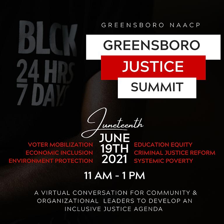 Greensboro Justice Summit